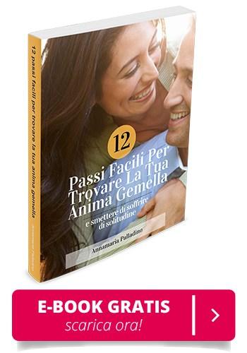Copertina ebook 12 passi facili per trovare la tua anima gemella